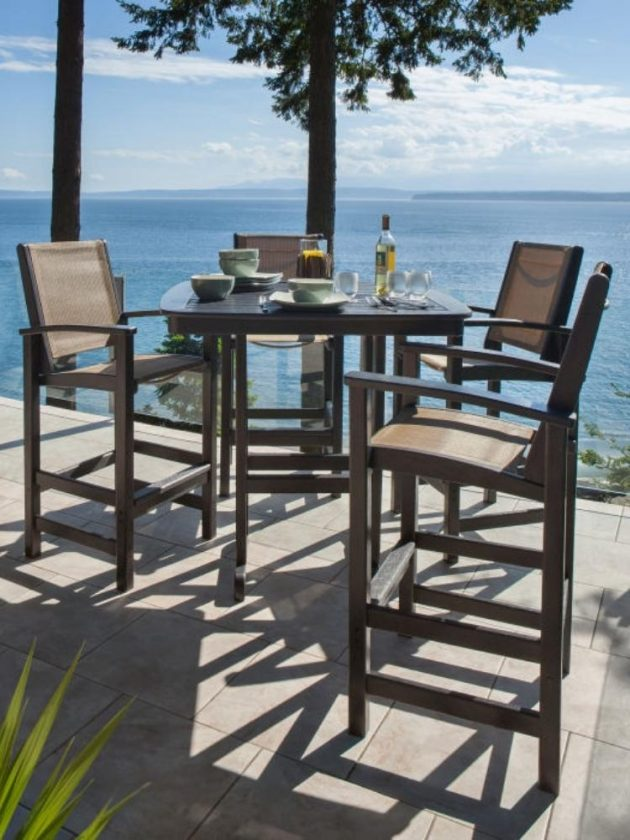 Eco-friendly outdoor dining furiniture from POLYWOOD
