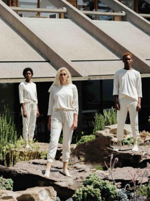 Sustainable white basics and outfit from Harvest & Mill