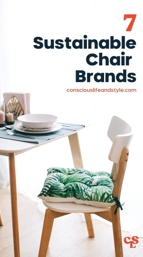 7 Sustainable Chair Brands - Conscious Life and Style