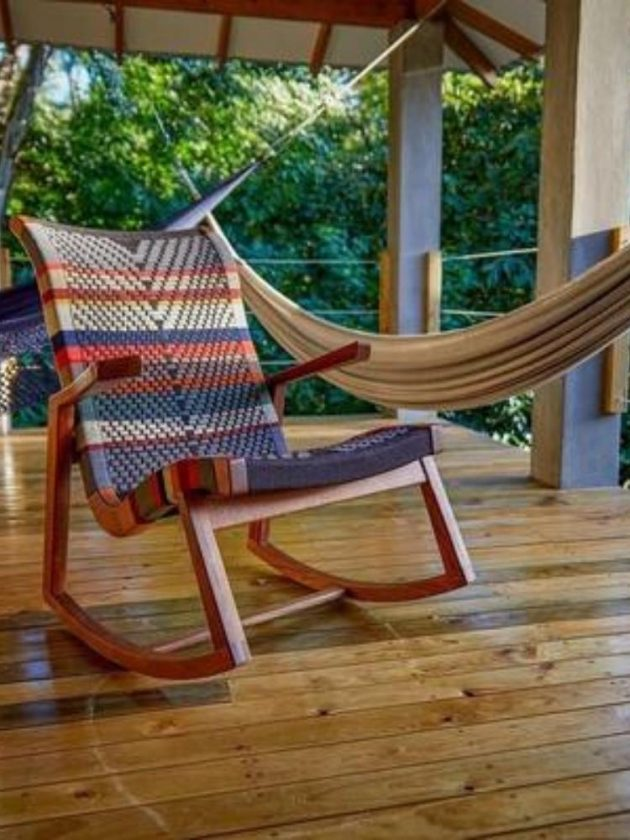 Sustainable colourful outdoor chair from Made Trade