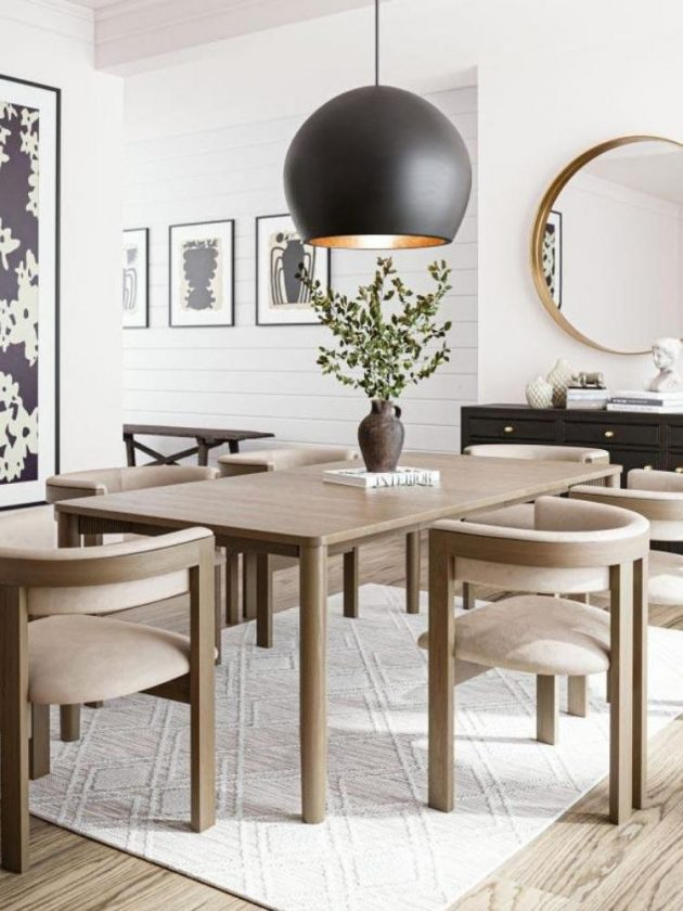 Eco-friendly dining chairs from Urban Natural