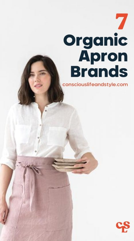 7 Organic Apron Brands - Conscious Life and Style