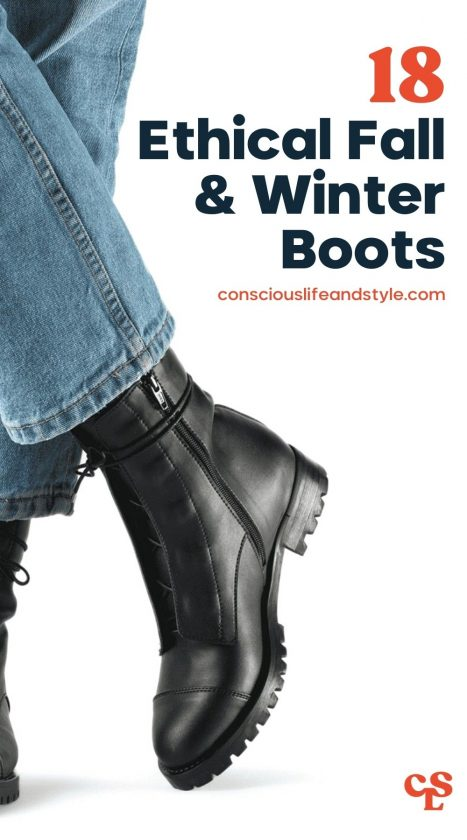 18 Ethical Fall & Winter Boots - Conscious Life and Style