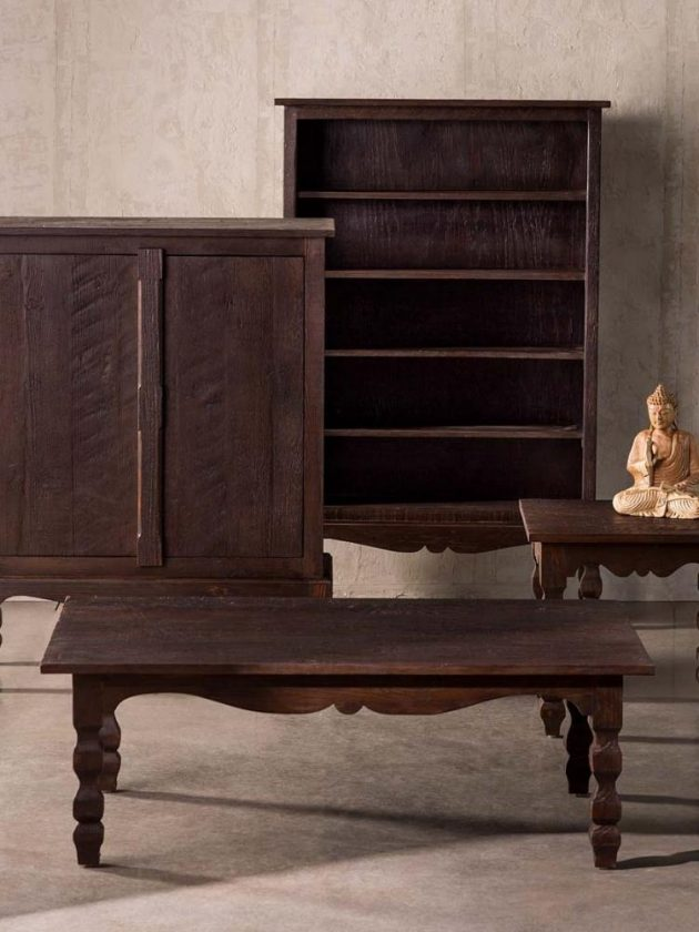 Sustainable vintage storage and tables from VivaTerra
