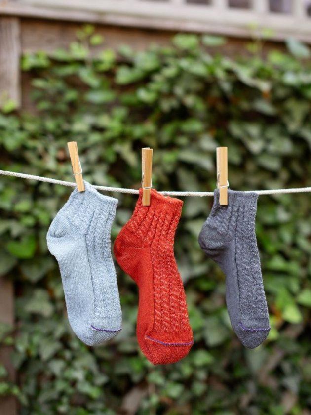 Recylced socks - an eco-friendly stocking stuffer idea from Silver Spun Goods