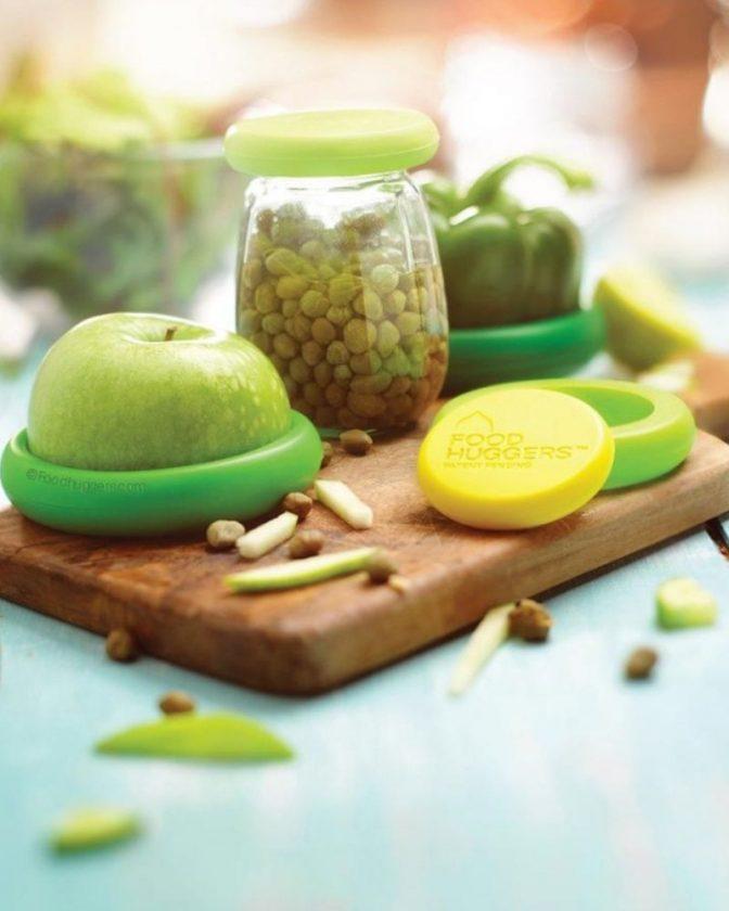 Eco-friendly stocking stuffers - silicone food huggers