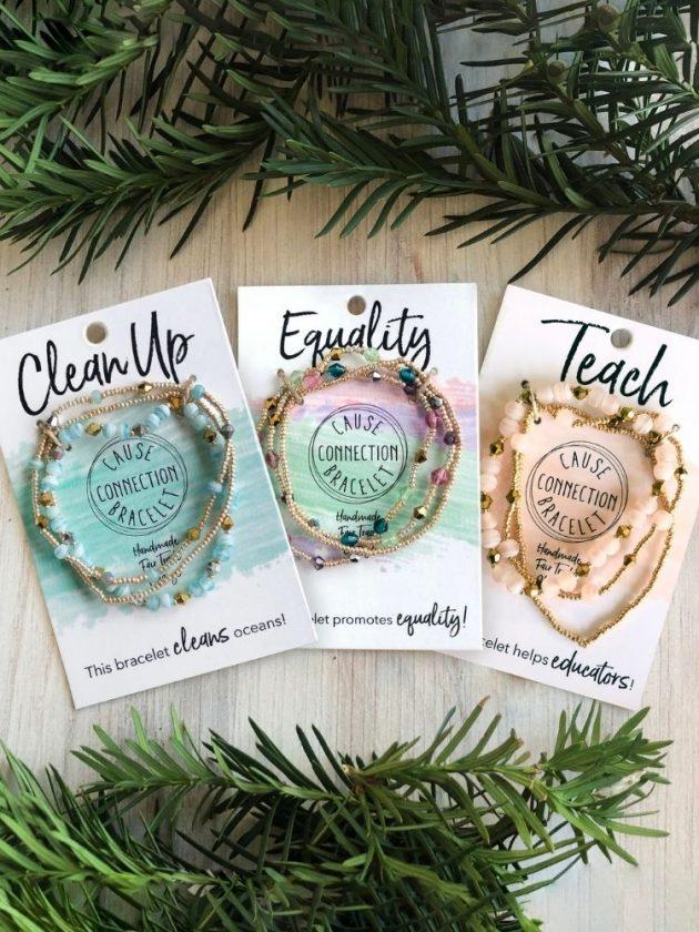 Fair trade stocking stuffers - bracelets WorldFinds