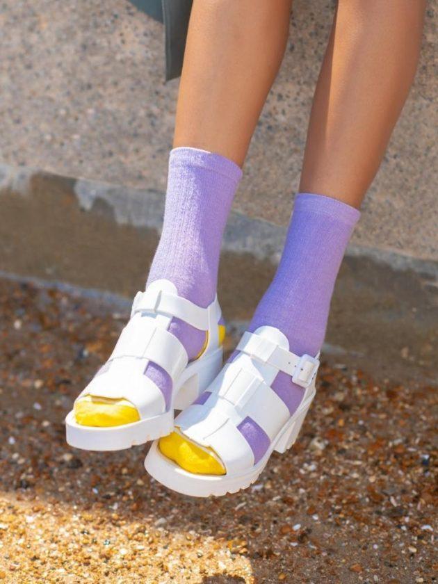 Recycled socks from Teddy Locks as a eco-friendly stocking stuffer