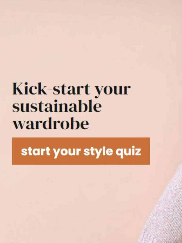 Style quiz to start your sustainable wardrobe